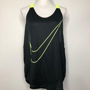 Nike Elastika Dri Fit Racerback Tank Top